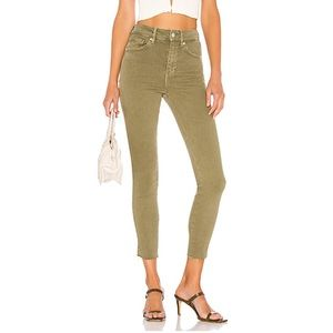 Free People (We the Free) Raw High Rise Jegging